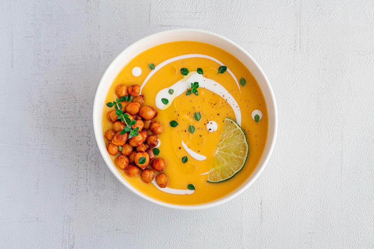 Crema antiinflamatoria de zanahoria y coco