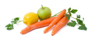 manzana zanahoria