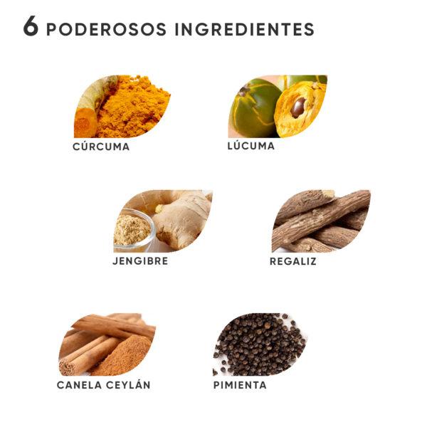 ingredientes antiinflamatorios naturales