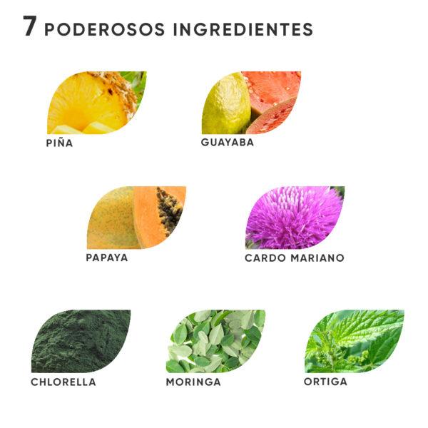 ingredientes dieta depurativa