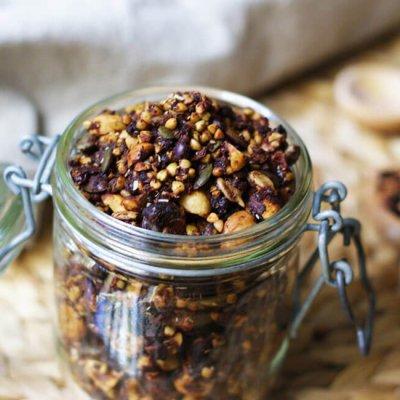 Granola de trigo sarraceno